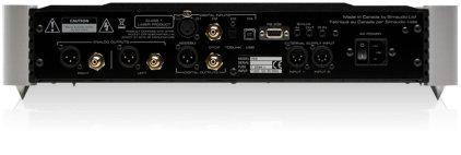 CD проигрыватель Sim Audio MOON 750D black (красный дисплей)