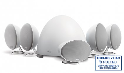 Комплект акустики KEF E305 white