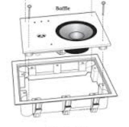 Revel IW65 (монтажная рама) RIB 6W
