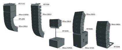 Стойка FBT FBT MT-S206 - стойка на сабвуфер для элементов линейного массива  MITUS 206LA