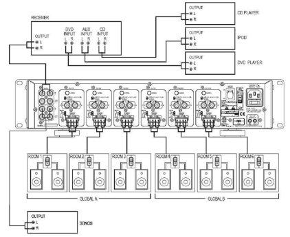 Усилитель Episode EA-AMP-12D-70A