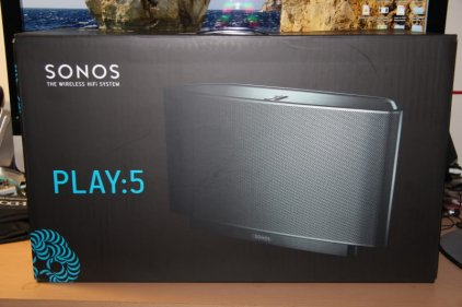 Зональный плеер Sonos PLAY:5 black