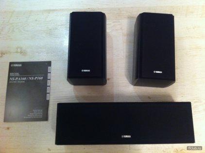 Комплект акустики Yamaha NS-P160 black