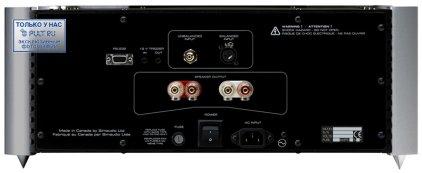 Усилитель звука Sim Audio MOON 880M RS silver