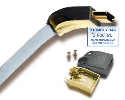 HDMI кабель Supra HDMI-HDMI Met-S/B 1.0m