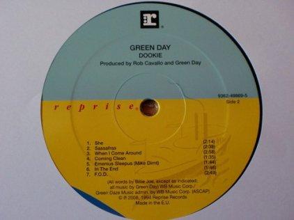 Виниловая пластинка Green Day DOOKIE (180 Gram)