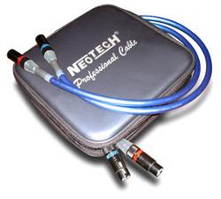 Кабель межблочный аудио Neotech NEI-1002 1.0m с XLR разъемами