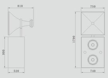 Акустическая система CINEMATIC C-215SC
