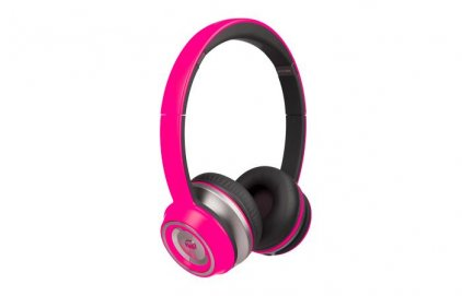 Наушники Monster NTune On-Ear Neon Pink