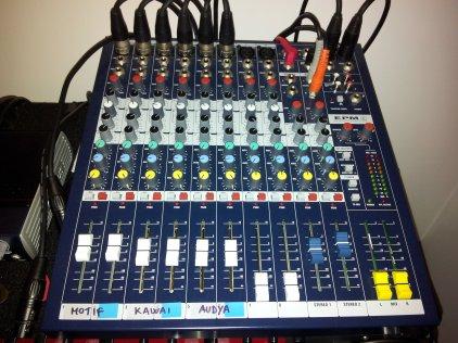 Микшерный пульт Soundcraft EPM8