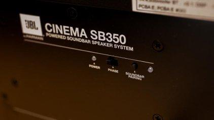 Саундбар JBL Cinema SB350/230