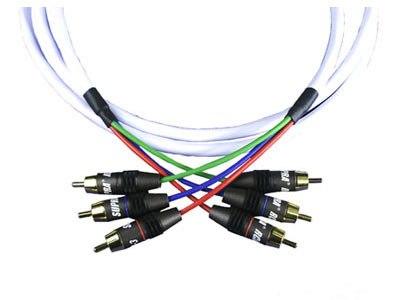 Межблочный кабель Supra 3 RCA - 3 RCA 8m