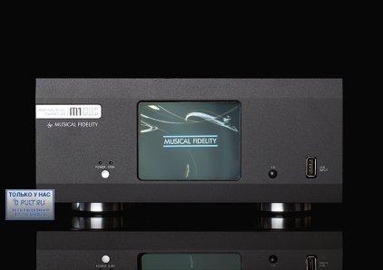 Сетевой аудио проигрыватель Musical Fidelity M1 Clic black