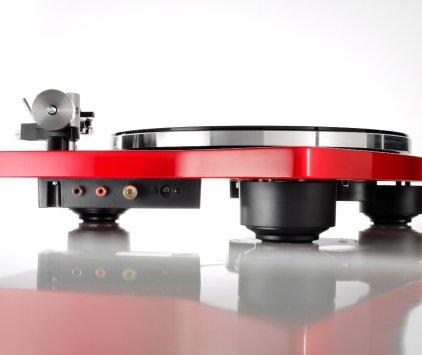 Проигрыватель винила Thorens TD 309 high gloss red (с тонармом TP 92)