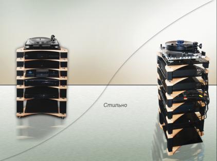 Модульная подставка под аппаратуру Antall High-End (5 полок)