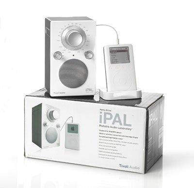 Радиоприемник Tivoli Audio iPAL White/Silver (PALIPAL)