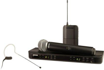 Shure BLX1288E/MX53 K3E 606-638 MHz