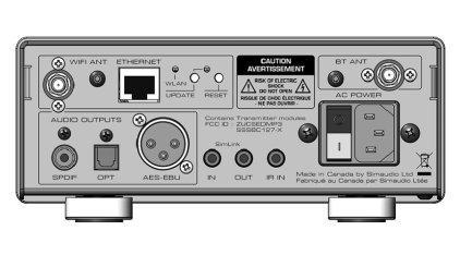 Сетевой аудио проигрыватель SIM Audio NEO MiND Network Player black