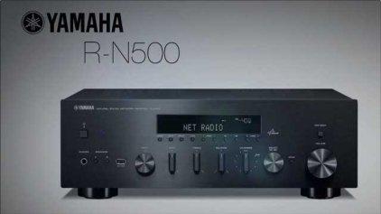 Стереоресивер Yamaha R-N500 black