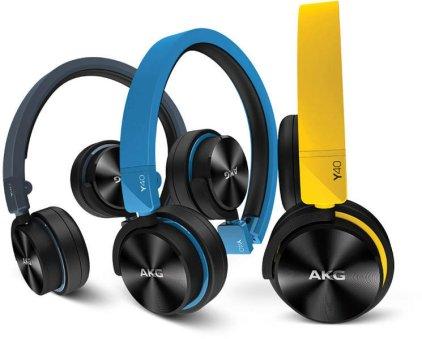 Наушники AKG Y40 blue