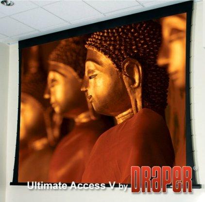 """Экран Draper Ultimate Access/V HDTV (9:16) 269/106"""" 132*234 M1300 (XT1000V) ebd 12"""""""