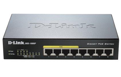 Сетевое оборудование D-Link DGS-1008P
