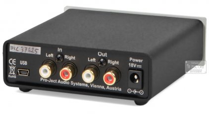 Усилитель для наушников Pro-Ject Head Box S USB black