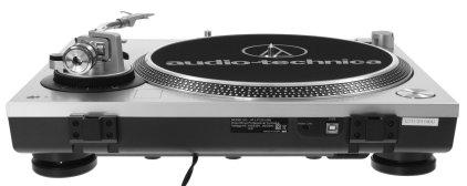 Проигрыватель винила  Audio Technica AT-LP120-USBHC