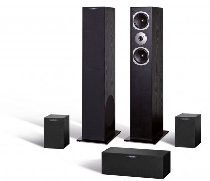 Комплект акустики Quadral Ferrum 7000 set black high gloss