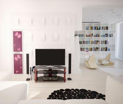 Подставка под TV и Hi-Fi Akma V3-1515 black