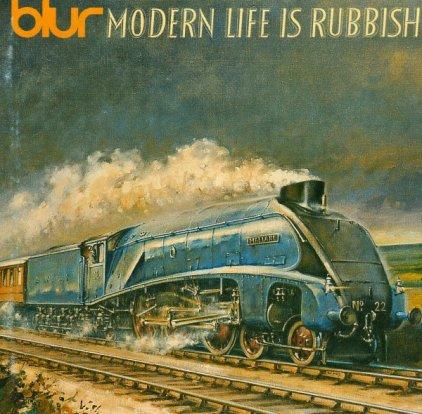 Виниловая пластинка BLUR MODERN LIFE IS RUBBISH (180 Gram)