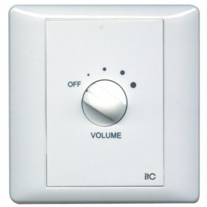 Панель ITC T-6 Регулятор громкости 6 Вт/100 В