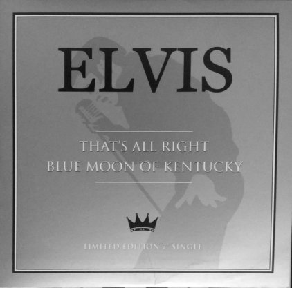 Виниловая пластинка Elvis Presley THAT'S ALL RIGHT (2 tracks)