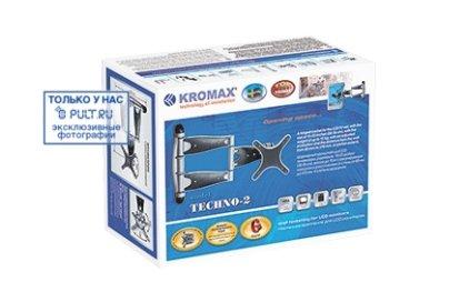 Кронштейн для телевизора Kromax Techno-2 серебристый