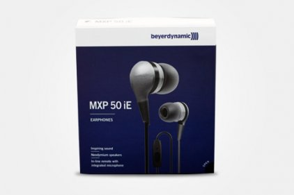Наушники Beyerdynamic MXP 50 iE black/silver