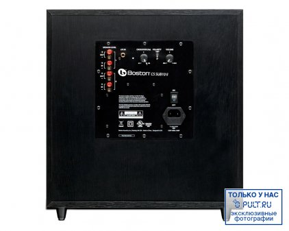 Сабвуфер Boston Acoustics CS Sub10 II black