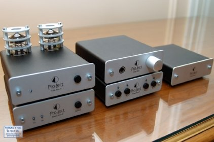 Стереоусилитель Pro-Ject Stereo Box Silver