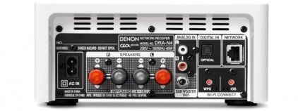 Сетевой проигрыватель Denon DRA-N4 gloss white