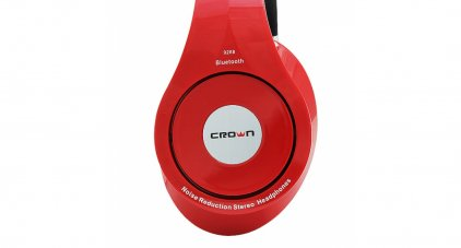Наушники Crown CMBH-9288 red