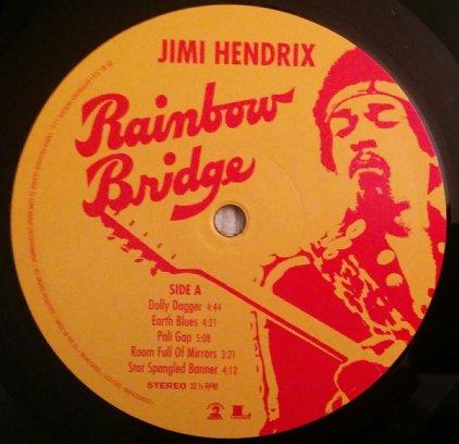 Виниловая пластинка Jimi Hendrix RAINBOW BRIDGE (180 Gram/W340)