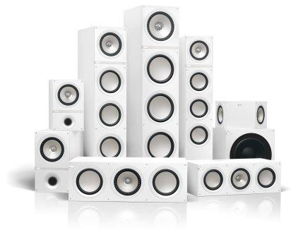Напольная акустика KEF Q700 white vinyl