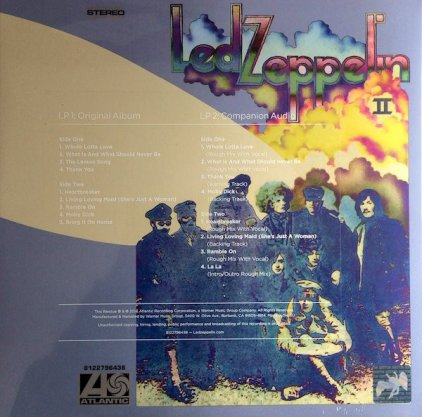 Виниловая пластинка Led Zeppelin LED ZEPPELIN II (Deluxe Edition/Remastered/180 Gram)