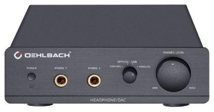 Усилитель для наушников Oehlbach XXL DAC Ultra black