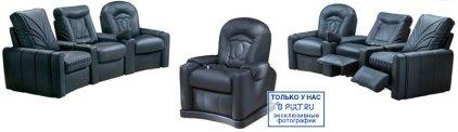 Кресло для домашнего кинотеатра Home Cinema Hall Classic Подлокотники ALCANTARA/120