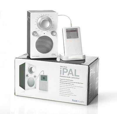 Радиоприемник Tivoli Audio Portable Audio Laboratory IPAL High Gloss Red (PALIPALR)