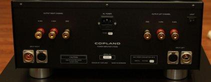 Усилитель мощности Copland CTA 506 silver