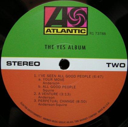 Виниловая пластинка Yes YES ALBUM (Remastered)