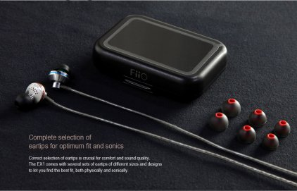 Наушники FiiO EX1 silver