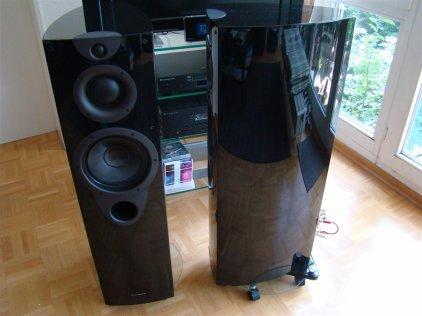 Напольная акустика Wharfedale OPUS2 1 piano black