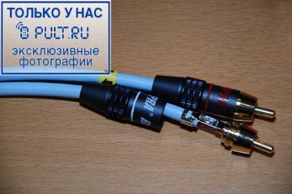 Межблочный кабель Supra Dual-RCA 1.0m